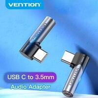 Vention tipo C a 3.5 Jack femmina auricolare Aux connettore USB tipo C a Jack adattatore da 3.5mm per Xiaomi Samsung Huawei P30 mate 20