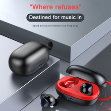 TWS Wireless Bluetooth V5.0 Earphone Touch Headphones Mini In-ear Earbuds Sports