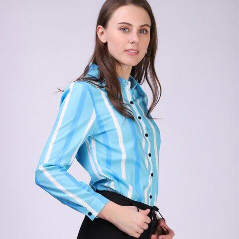 BIBOYAMALL White Blouse Women Chiffon Office Career Shirts Tops Fashion Casual Long Sleeve Blouses Femme Blusa Multan