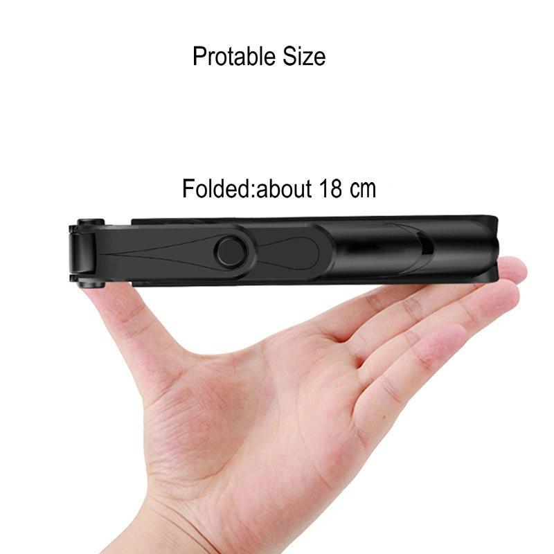 3 In 1 Selfie Stok Telefoon Statief Uitschuifbare Monopod Met Bluetooth Afstandsbediening Voor Smartphone Selfie Stok 6
