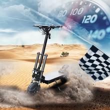 Sin impuestos 11 pulgadas 80 km / h scooter eléctrico 60 v 3200 w rueda del motor Larga