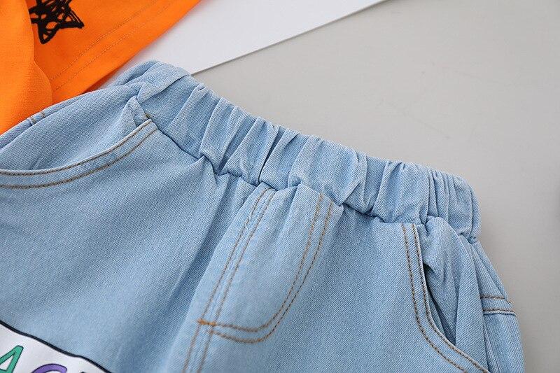 Купить летний комплект детской одежды одежда для маленьких мальчиков