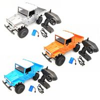 MN Model MN 45 RTR 1/12 2.4G 4WD Multiple Colour Rc Car & LED Light Crawler Climbing Off road Truck For Boys Kids