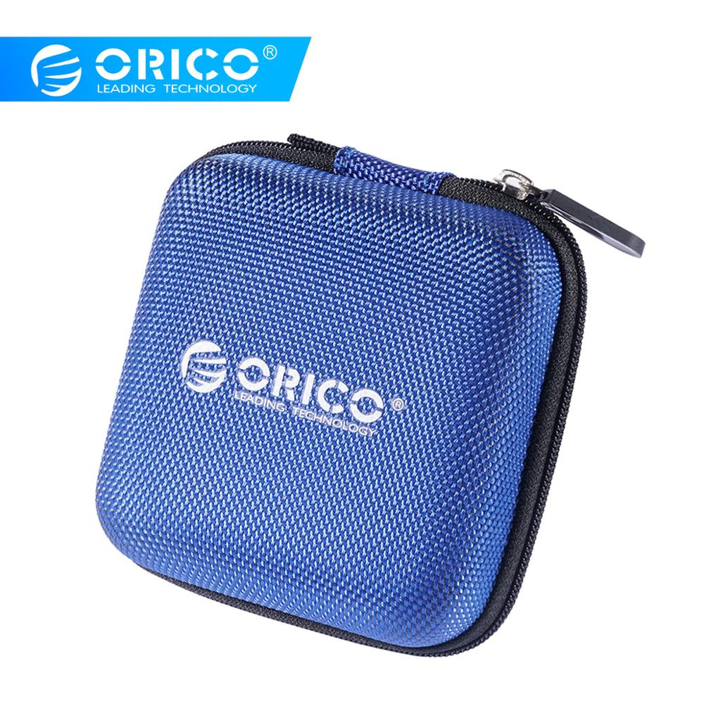 ORICO EVA Case Bag Earphone Headset Accessories Portable Case Pressure Shock Absorption Date Cable Storage Package Case Bag