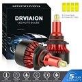 2 шт., автомобисветодиодный светодиодные ламсветильник H1 H7 H8/H9/H11, 200 Вт 6500 лм