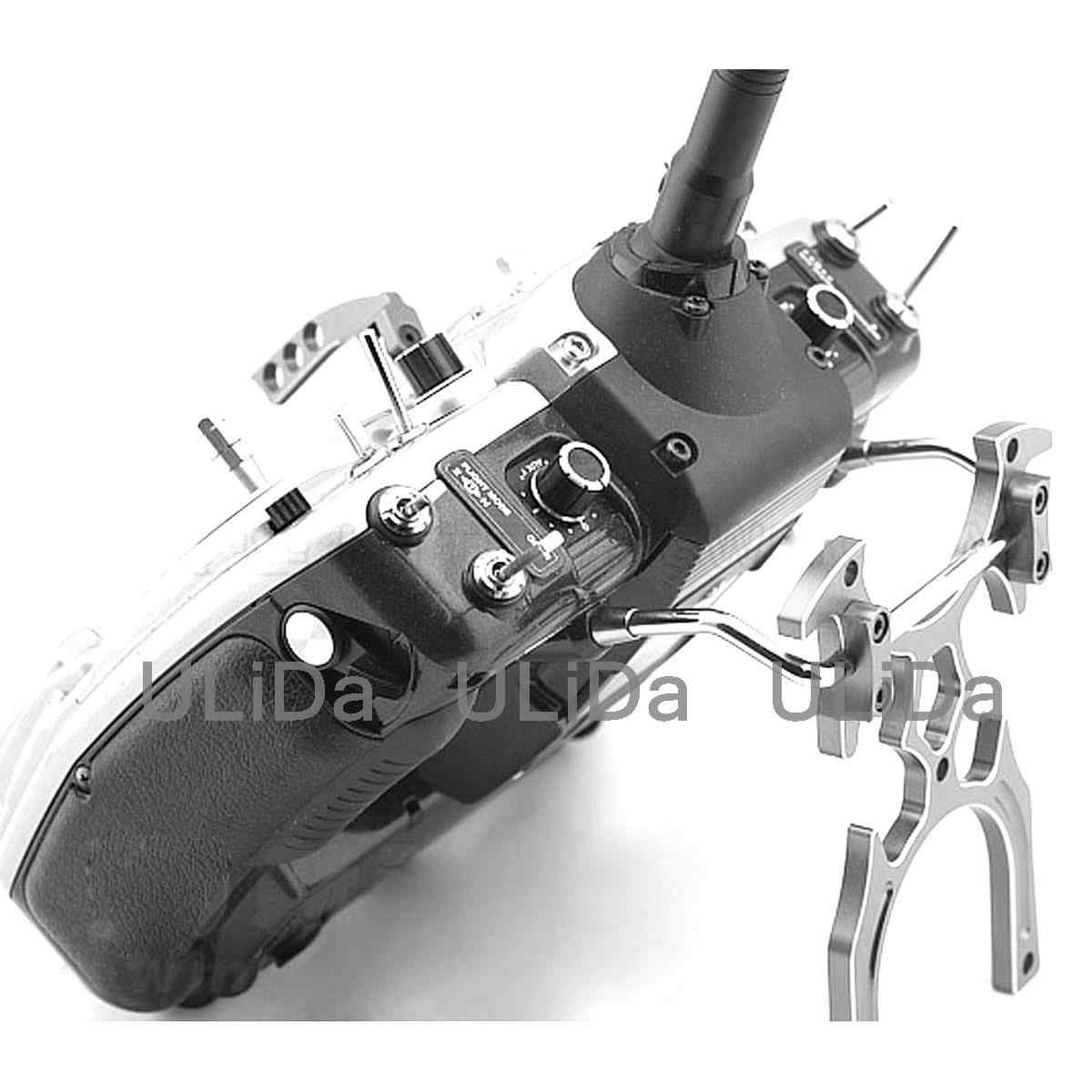 Soporte de tipo alargado soporte del transmisor de aluminio altura 138mm Launch Braket For JR FUTABA control remoto
