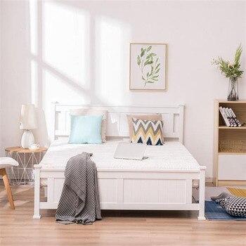 Modern White Full Bed 1