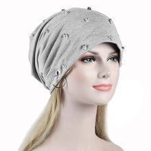 купить New Fashion Men Women Unisex Casual Hat with Skull Rivet K Pop Dance Caps Winter Warm Beanies Grey Adult Hip Hop Bonnet Hats по цене 315.24 рублей
