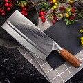 SHUOJI 中国スライスナイフスーパーシャープ刃野菜肉魚ナイフ 4Cr14 高硬度キッチン調理ナイフ包丁