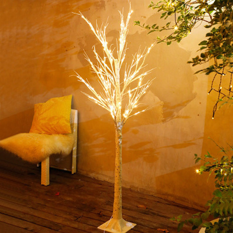 FUMAT Birch LED Christmas Tree Lights Outdoor Landscape Colorful Lamp USB Plug Northern Light Luces LED Decoracion String Light
