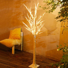 FUMAT Birch LED Christmas Tree Lights Outdoor Landscape Colorful Lamp USB Plug Northern Light Luces LED Decoracion String Light(China)