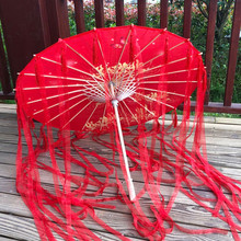 82cm vermelho flor antigo óleo papel guarda-chuva à prova de chuva casamento chinês cheongsam paraguas guarda chuva şemsiye japão sombrilla