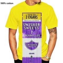 NEU Swisher Sweets - Grape - White T-Shirt - Ships Fast! High Quality!
