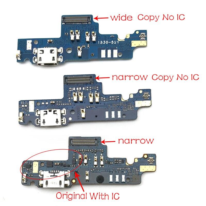 Original New Dock Connector Charging Port Flex Cable For Xiaomi Redmi Note 4X Note4x USB Charging Port Repair Parts 3GB 32GB