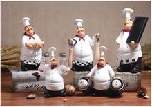 American Retro Creative Chef Ornament Home Restaurant Table Wine Cabinet Bar Decoration Cake Shop Ornament(China)