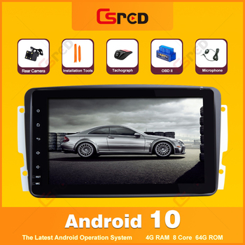 Csred 8 Auto Radio For Mercedes Benz CLK-Class W209 C209 W168 W463 Viano Vito Vaneo GPS Navigation Stereo Head Unit IPS image