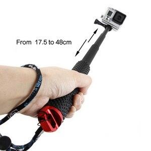 Image 3 - Gosear 水中一脚 Selfie スティックポール & リストバンド移動プロ囲碁プロヒーロー 5 4 3 プラス 2 Sjcam Xiaomi 李 4 18k アクションカメラ