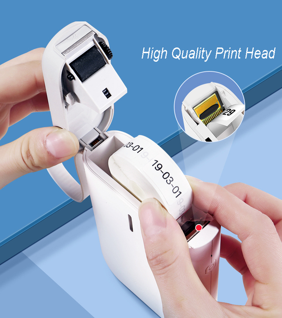 Portable Thermal Label Printer