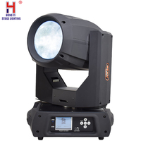 Moving head lyre 350w 17r professional stage lighting beam lights with rainbow effect for dj party equipment