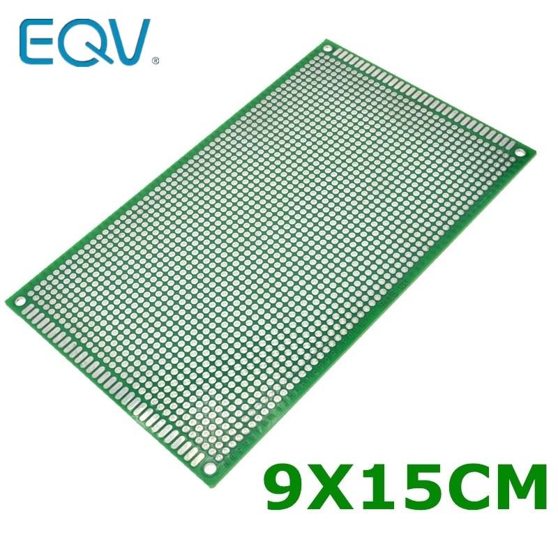 9X15 Cm Double-Side Copper Prototype Pcb 9*15 Cm Universal Board For Arduino