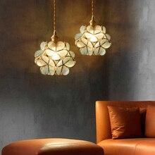Modern blue glass shade pendant lamp dining lighting kitchen