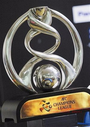 High Quality   AFC  Asia League Champions Trophy  Football Soccer Souvenirs Award Free Engraving Aliexpress Shipping Very Fast