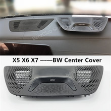 For 2019-21BMW G05 X5 G06 X6 G07 X7 Series LED Center Control Panel Cover Lighting Audio Accessories Loudspeaker Decoration horn