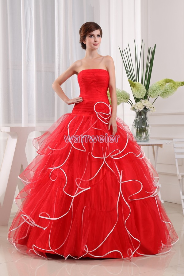 Gala Elegant Plus Size Floor Length Formal  Red Maxi Bridal Gown Robe Corset Long Ball Gown Plum Prom Bridesmaid Dress