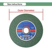 цена на 10pcs 4 Resin Cutting Disc Cutting wheel grinding disc for Metal Angle grinder Y51B