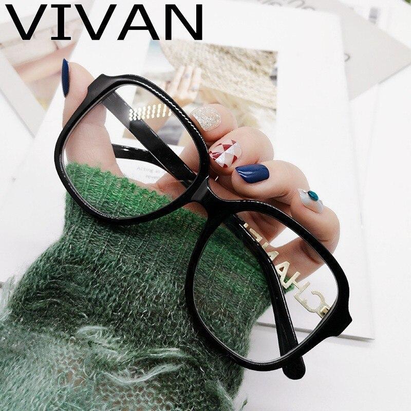 2020 Square Eyeglasses Frame Women Luxury Brand Designer Vintage Eye Glasses Frames For Men Male Glasses Frame Optical
