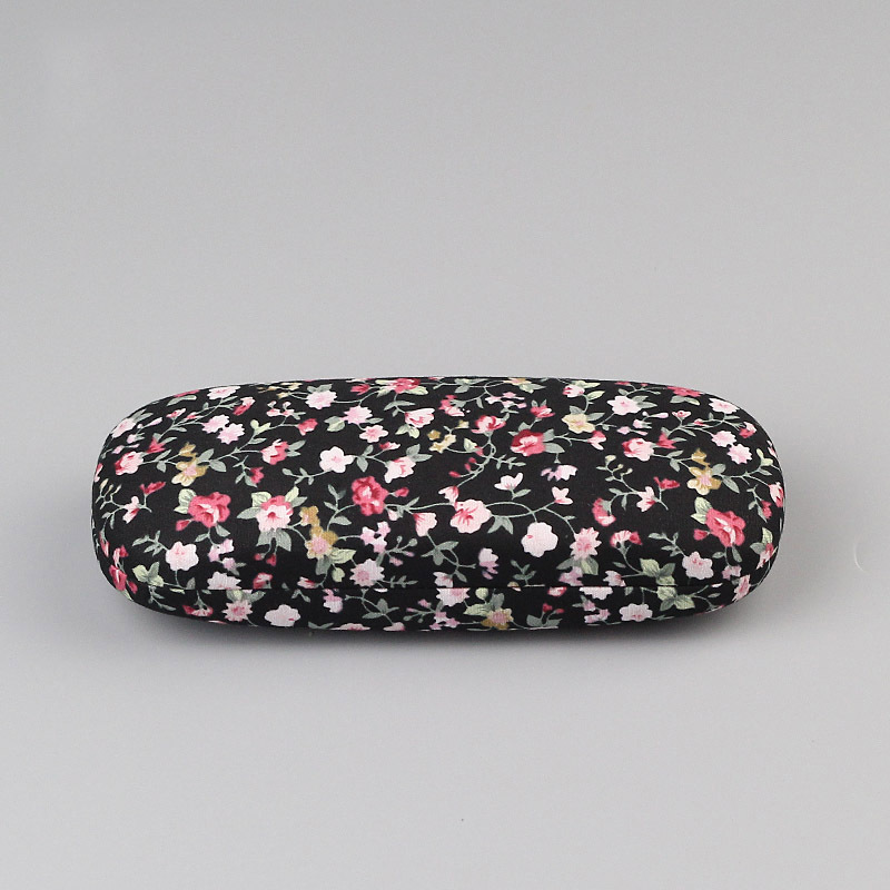 New Floral Hard Eye Glasses Case New Style Protable Sunglasses  Eyewear Protector Box Pouch Bag 4 Colors Free Shipping