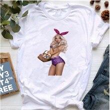 Новая стильная женская летняя футболка уличная одежда топ модная