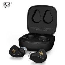 Kz z1/z1 pro tws verdadeiro sem fio bluetooth 5.0/5.2 fones de ouvido jogo dinâmico earbud controle toque esporte fone de ouvido kz z3 s2 s1