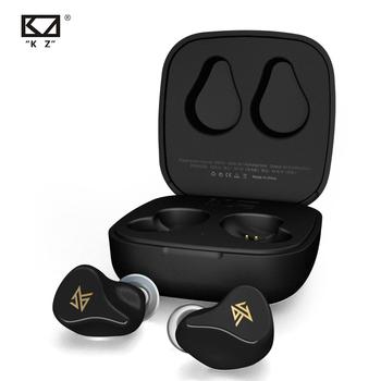 KZ Z1 Z1 PRO bezprzewodowy Bluetooth TWS True 5 0 5 2 słuchawki dynamiczna gra douszne sterowanie dotykowe sportowy zestaw słuchawkowy KZ Z3 S2 S1 tanie i dobre opinie NONE Dynamiczny CN (pochodzenie) Prawdziwie bezprzewodowe 115dB Do gier wideo do telefonu komórkowego Słuchawki HiFi instrukcja obsługi