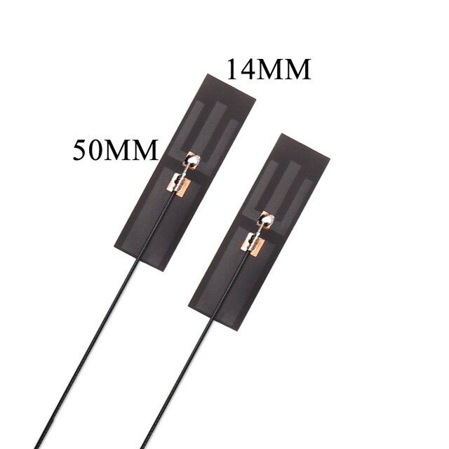 2.4G 5G 5.8G 5dbi haut gain IPEX intégré FPC wifi bluetooth routeur double fréquence flexible antenne omnidirectionnelle souple