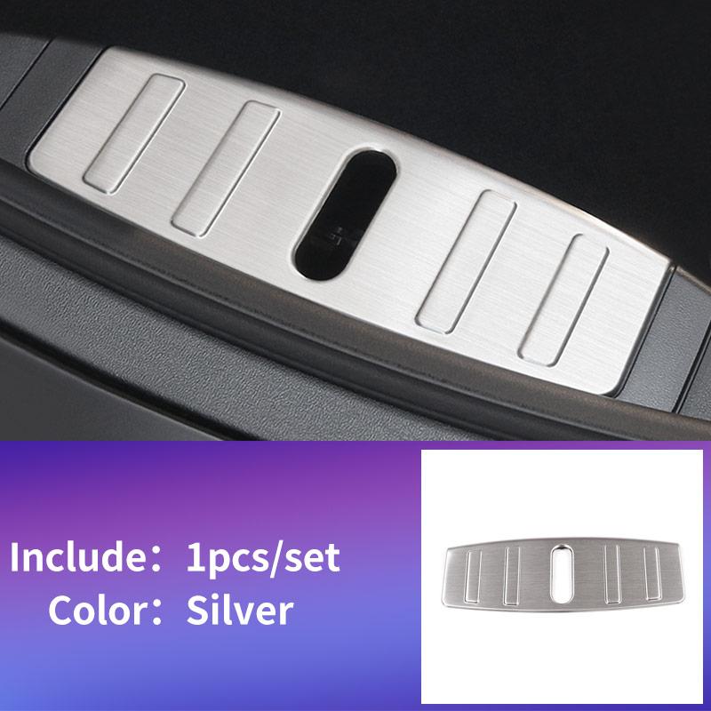 Panneau arrière pour Tesla modèle 3 accessoires/accessoires de voiture modèle 3 tesla trois tesla modèle 3 carbone/accessoires