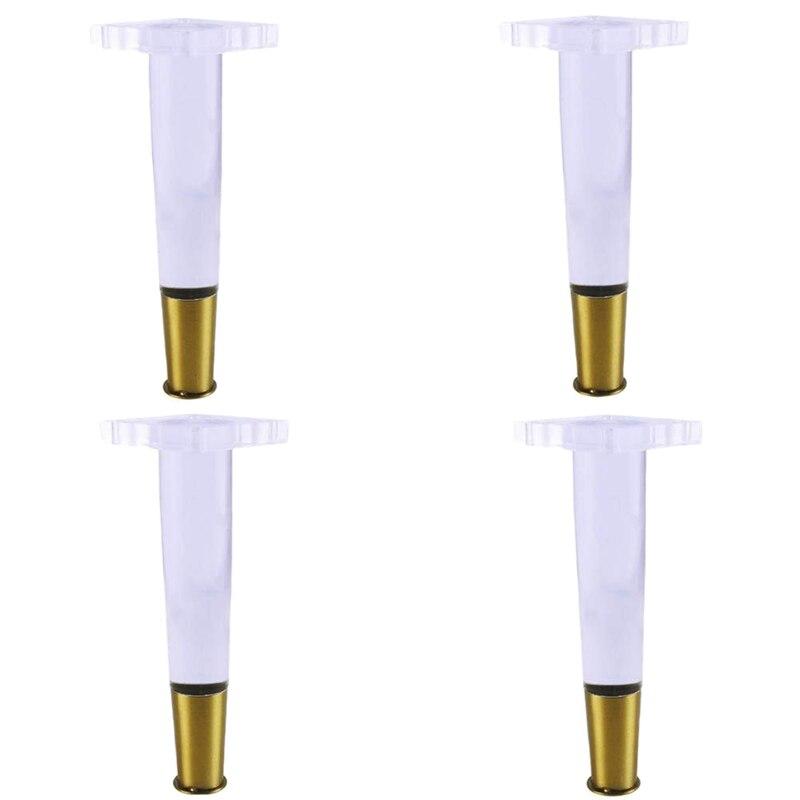 Hot Sale 4Pcs/Set Tapered Acrylic Sofa Legs Plexiglass Table Legs Acrylic Cabinet Legs Furniture Accessories Chair Legs|  - title=