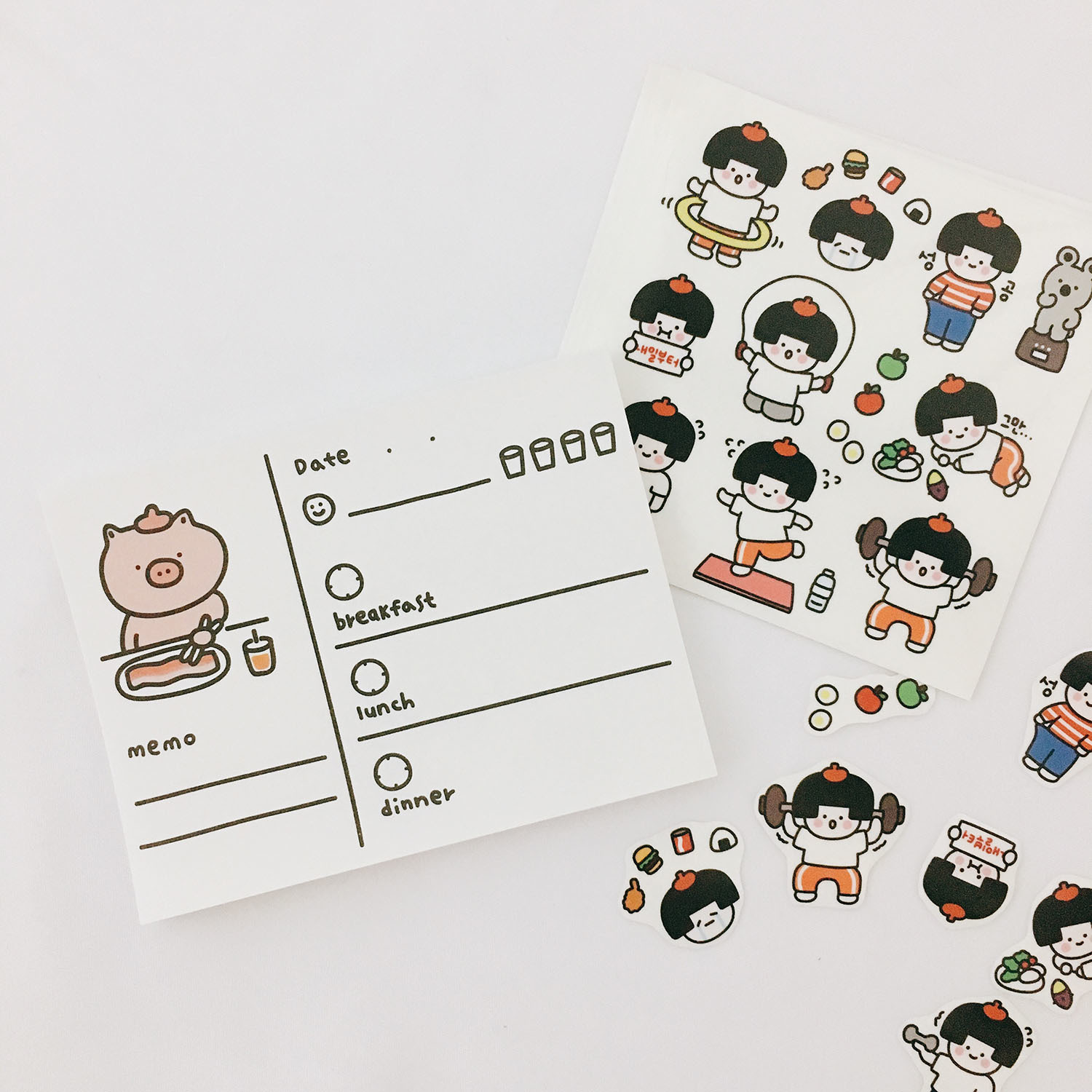 Купить с кэшбэком Ins Hot Cute Comic Peach Games Child Stickers Seal Sticker Color Hand Account Decoration Wall Stickers Korean Campus Stationery