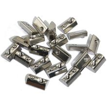 50Pcs M5 T Spring Ball Nut,Half Round Roll-In Nut For 3030S T-Slot Aluminum Profile 30x30Mm