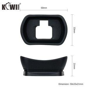 Image 3 - Kiwiนุ่มซิลิโคนExtendedกล้องEyecupช่องมองภาพสำหรับNikon Z5 Z7 Z6 Z6II Z7IIยาวEye Eye Eyeshadeแทนที่DK 29