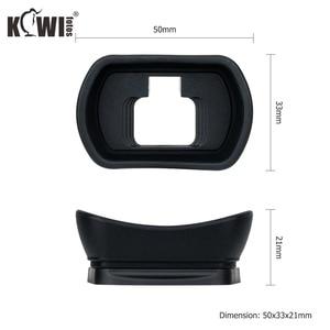 Image 3 - Kiwi Soft Silicone Extended Camera Eyecup Viewfinder Eyepiece For Nikon Z5 Z7 Z6 Z6II Z7II Long Eye Cup Eyeshade Replaces DK 29