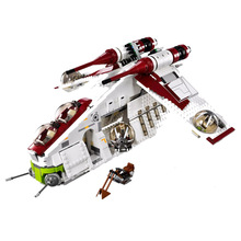 Star Figure Toys Republic Gunship Compatible Legoingly Star Wars 75021 Building Blocks Bricks for Children Christmas Gift 2017 lepin 05041 1175pcs 05004 star series wars republic gunship model building blocks bricks kits compatible 75021 toys gifts