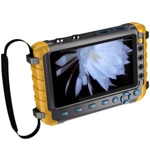 Image 3 - 5 بوصة TFT LCD 1080P 5MP 4MP 4 في 1 TVI العهد السيدا النظير CCTV تستر الأمن فاحص الكاميرا رصد HDMI المدخلات الصوت اختبار