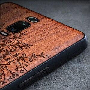 Image 3 - Чехол для Xiaomi mi 9t Boogic Wood funda Redmi k20 Pro Rosewood, ударопрочный ТПУ чехол накладка для телефона Xiaomi Mi 9T Pro, чехол
