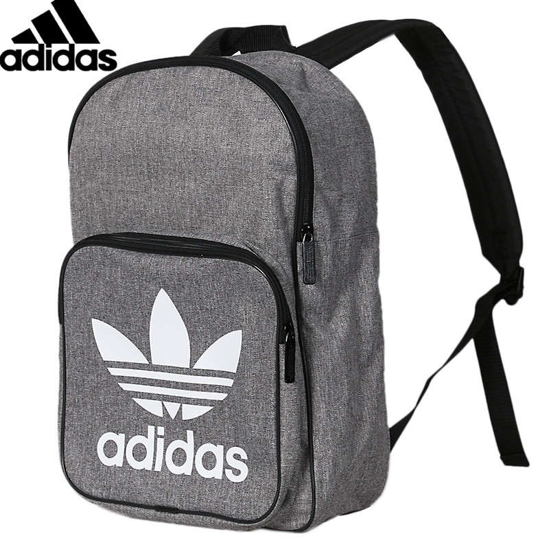 <font><b>Original</b></font> <font><b>Adidas</b></font> BP CLASS CASUAL Unisex Backpacks Gym Backpack Gray Sports Bags D98923 image