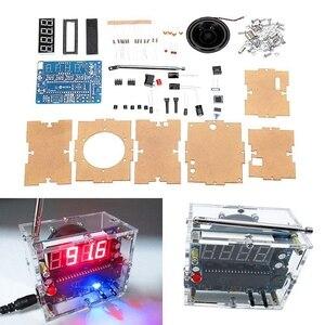 Image 2 - TEA5767 DC 4.5V 5.5V Diy Mini Digital FM Radio 87MHZ 108MHZ 2W 8ohm Speaker Electronics Kit   Arduino Compatible Kits & Diy Kits