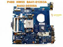 Original für Samsung P480 laptop motherboard P480 HM55 BA41-01263A BA92-06508A getestet gute freies verschiffen