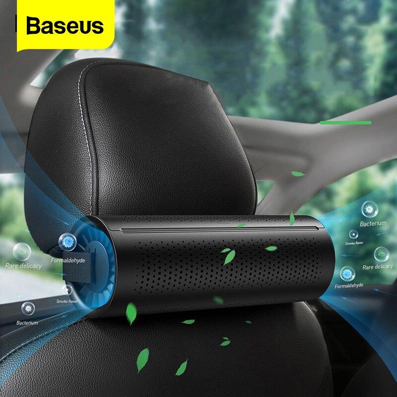 Baseus nouvelle voiture purificateur d'air ioniseur Ion négatif voiture désodorisant charbon actif formaldéhyde Auto purificateur d'air accessoires