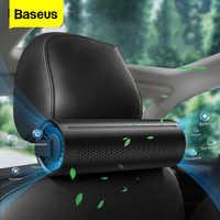 Baseus novo purificador de ar do carro ionizador íon negativo ambientador de ar do carro ativado formaldeído carbono auto cleaner accessiories