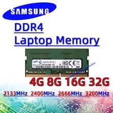 Laptop Memory Sodimm 2400mhz Pc4 Samsung Ddr4 2666mhz 3200AA 2133mhz 16GB 8GB 4GB 32GB